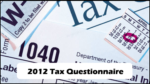2012-Tax-Questionnaire
